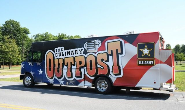 New Culinary Outpost food truck will help fuel the force at